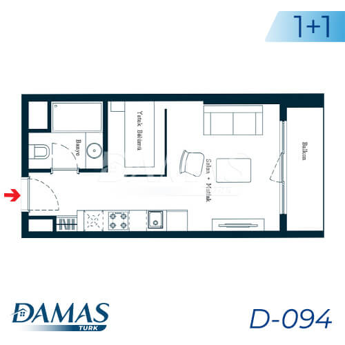 Damas Project D-094 in Istanbul - Floor Plan picture 01