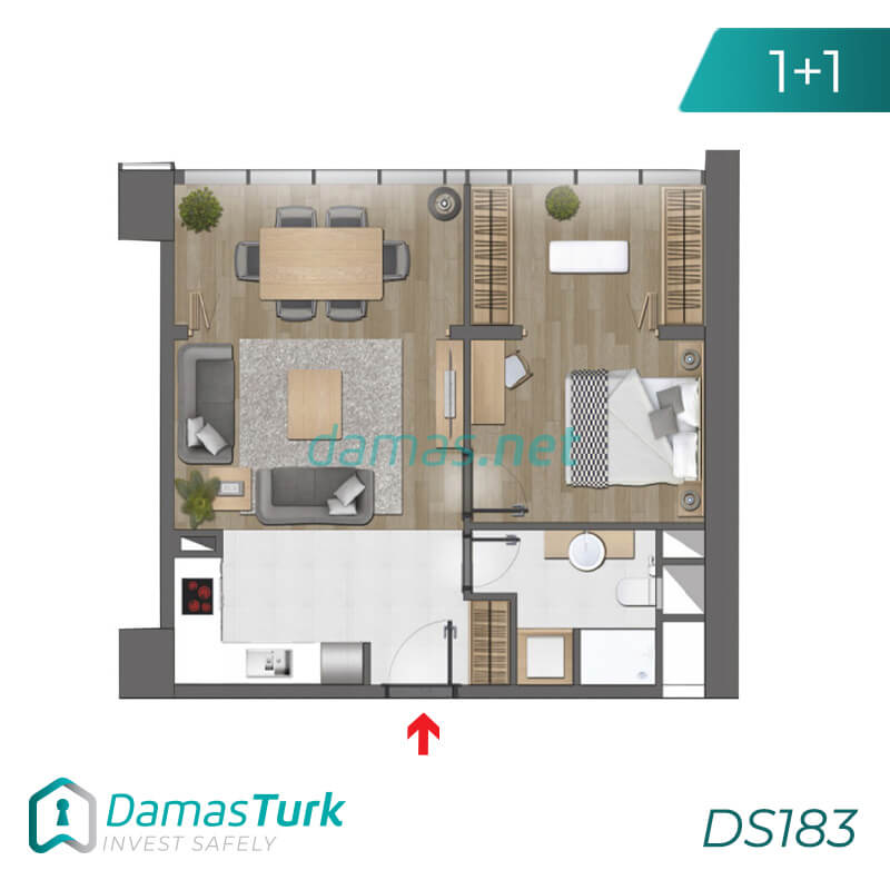 Istanbul Property - Turkey Real Estate - DS183 || damas.net 01