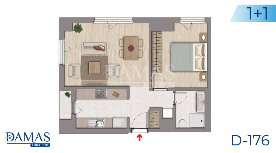 Damas Project D-176 in Istanbul - Floor plan picture  01