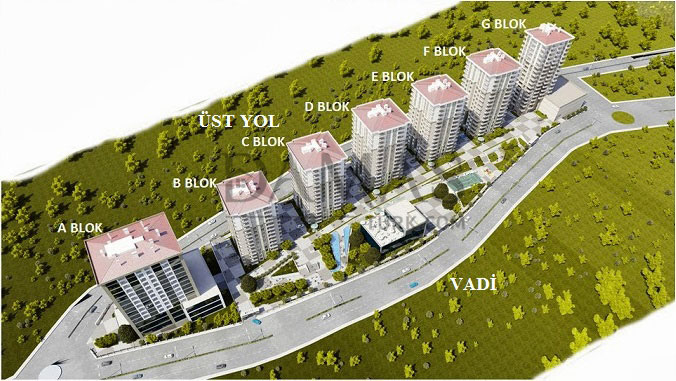 Damas 404 Project in Trabzon - Floor Plan 01