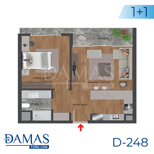 Damas Project D-248 in Istanbul - Floor plan picture 01