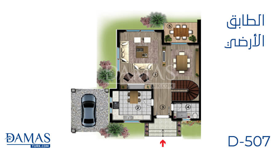 Damas Project D-507 in kocaeli - Floor plan picture 01