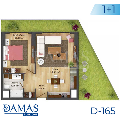 Damas Project D-165 in Istanbul - Floor plan picture  01