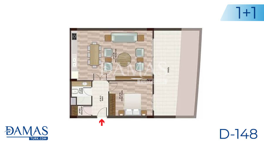 Damas Project D-148 in Istanbul - Floor plan picture 01