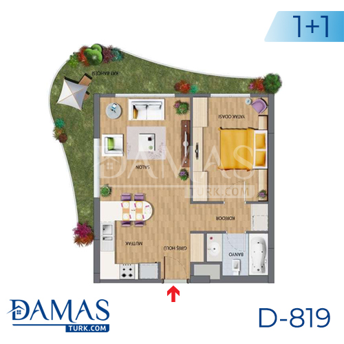 Damas Project D-819 in Istanbul - Floor plan picture 01