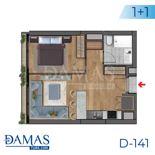 Damas Project D-141 in Istanbul - Floor plan picture 01