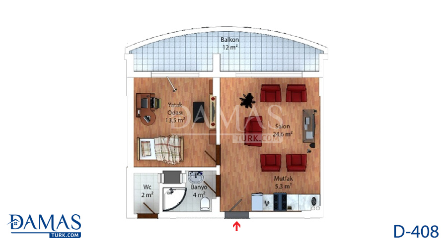 Damas 408 Project - Floor Plan 01