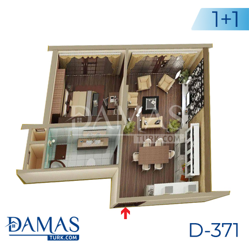 Damas Project D-371 in Yalova - Floor plan picture 01