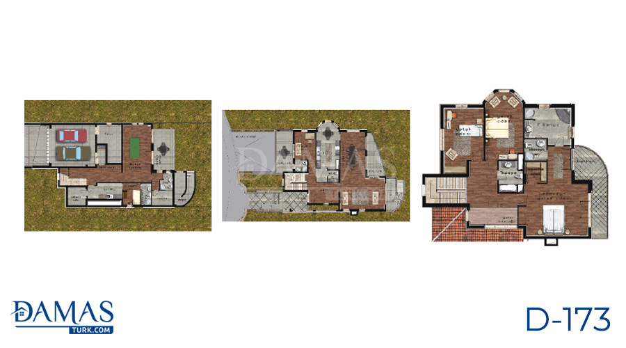 Damas Project D-173 in Istanbul - Floor plan picture  01
