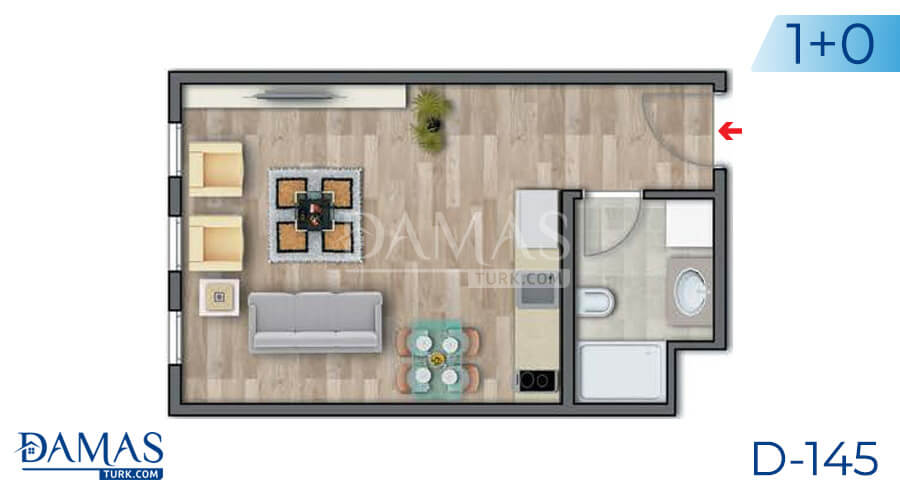 Damas Project D-145 in Istanbul - Floor plan picture 01