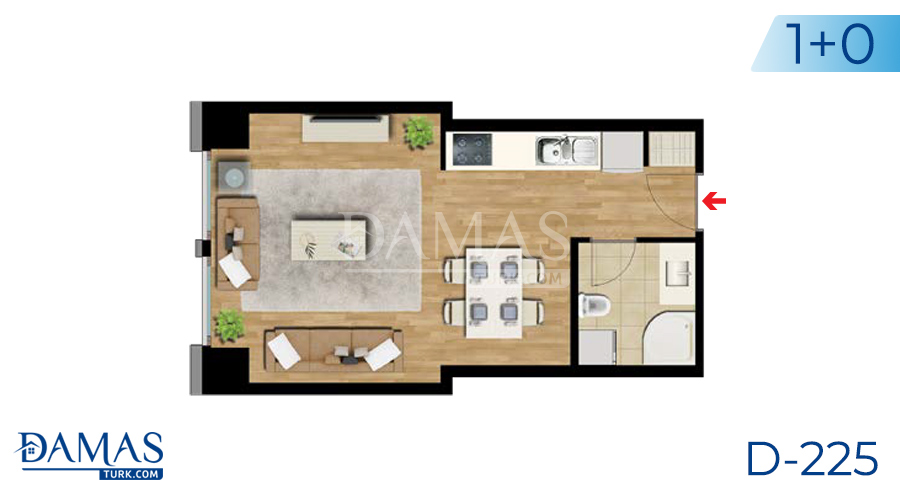 Damas Project D-225 in Istanbul - Floor plan picture  01