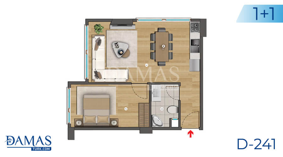 Damas Project D-241 in Istanbul - Floor plan picture  01