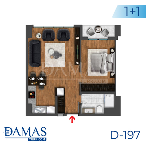 Damas Project D-197 in Istanbul - Floor plan picture  01