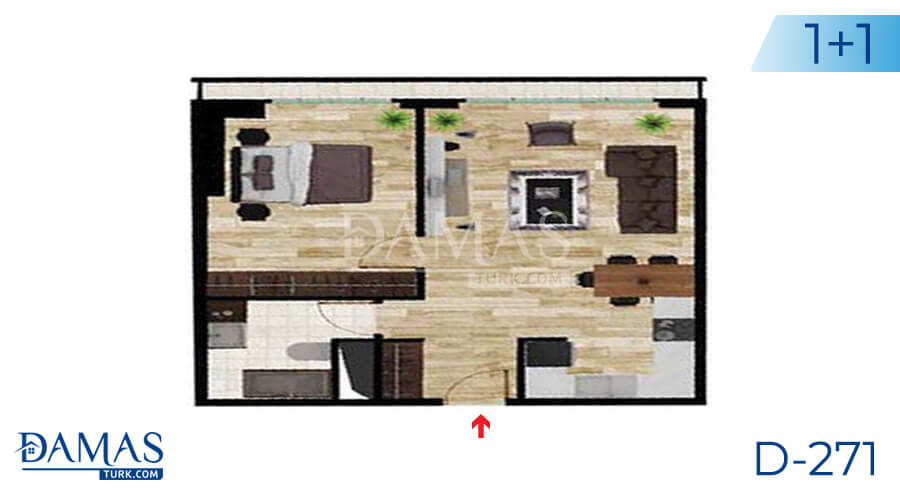 Damas Project D-271 in Istanbul - Floor plan picture 01
