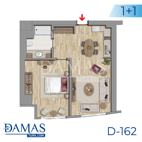 Damas Project D-162 in Istanbul - Floor plan picture 01