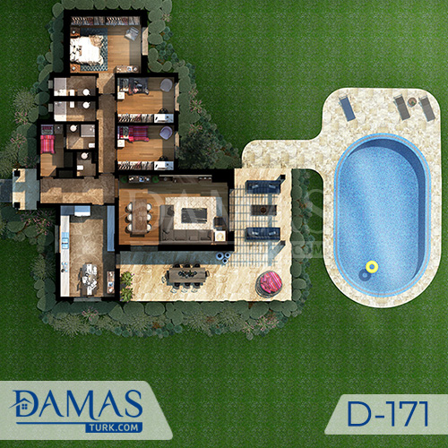 Damas Project D-171 in Istanbul - Floor plan picture  01