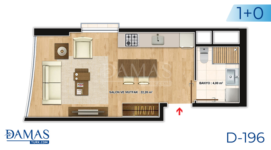 Damas Project D-196 in Istanbul - Floor plan picture  01