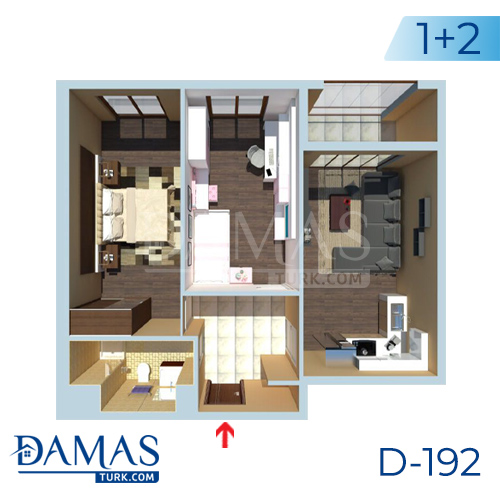 Damas Project D-192 in Istanbul - Floor plan picture  02
