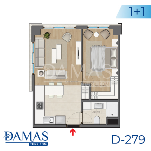 Damas Project D-279 in Bursa - Floor plan picture 02