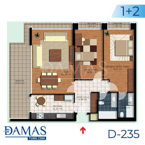 Damas Project D-235 in Istanbul - interior picture  02
