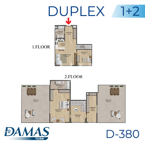 Damas Project D-836 in Istanbul - Floor Plan picture 04
