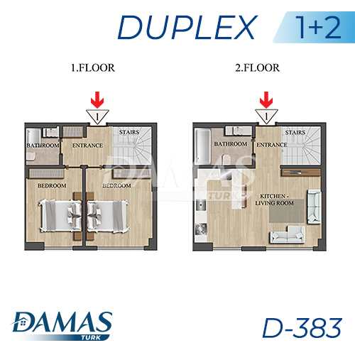 Damas Project D-383 in Istanbul - Floor Plan picture 03