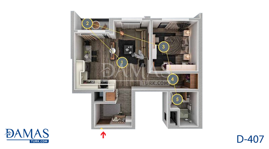 Damas 407 Project - Floor Plan 02