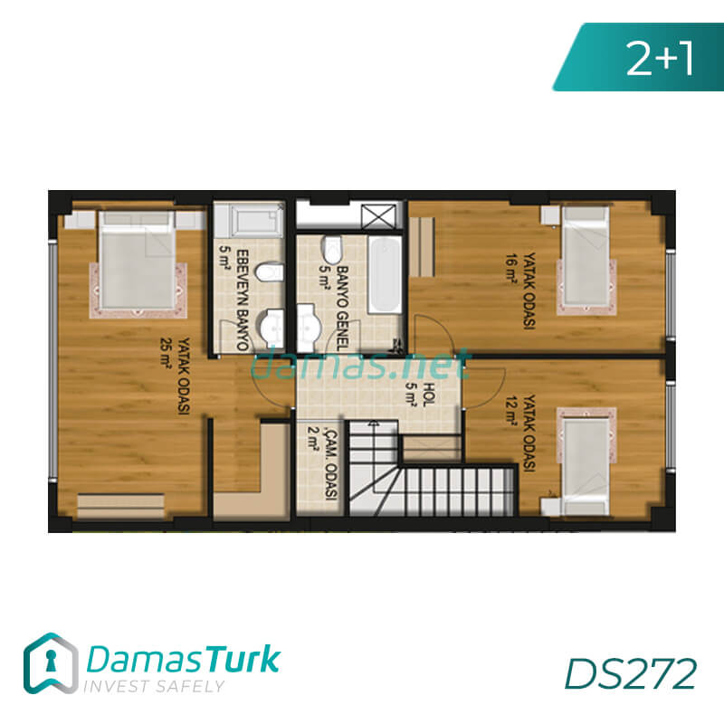 An investment complex ready to move in Istanbul European in the Buyukcekmece region. DS272 || damas.net 01