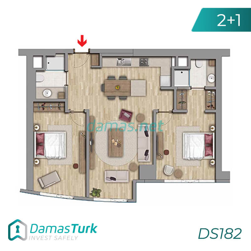 Istanbul Property - Turkey Real Estate - DS182 || damas.net 02