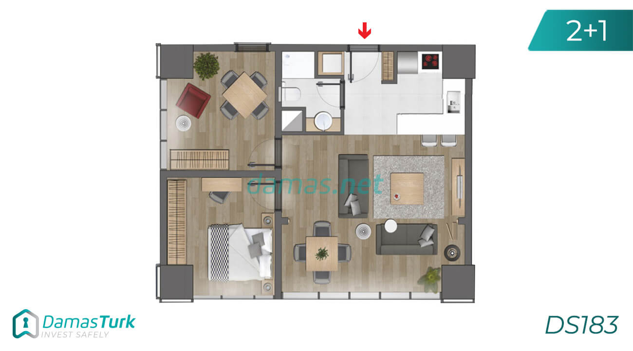 Istanbul Property - Turkey Real Estate - DS183 || damas.net 02