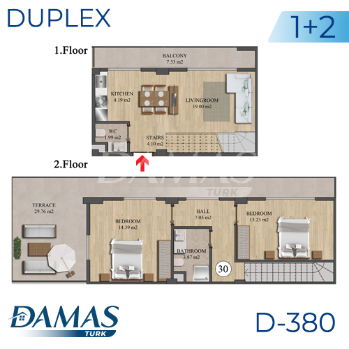 Damas Project D-836 in Istanbul - Floor Plan picture 03