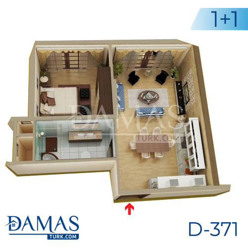 Damas Project D-371 in Yalova - Floor plan picture 02