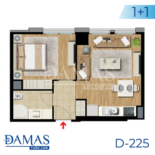 Damas Project D-225 in Istanbul - Floor plan picture  02
