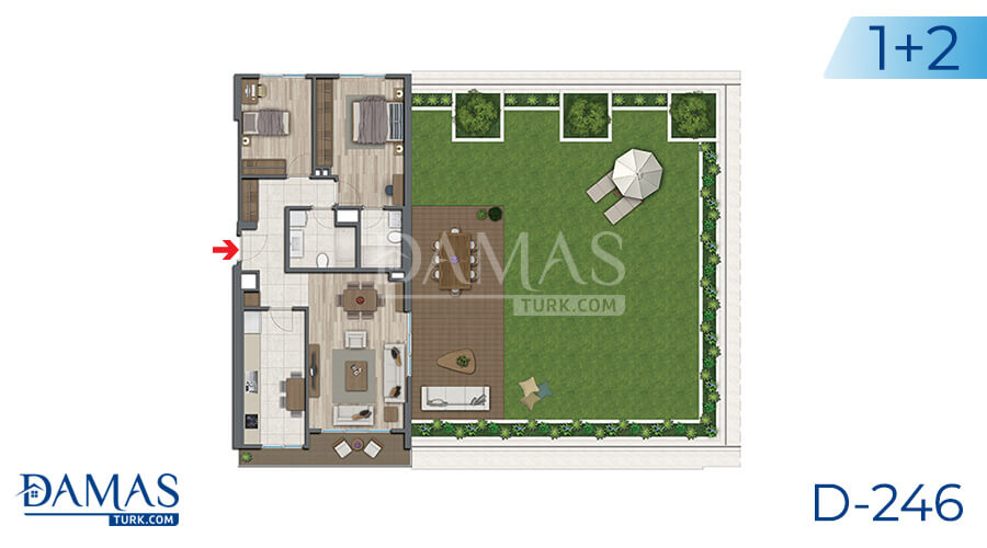 Damas Project D-246 in Istanbul - Floor plan picture 02