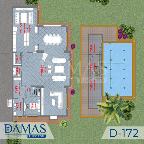 Damas Project D-172 in Istanbul -Floor plan picture  02