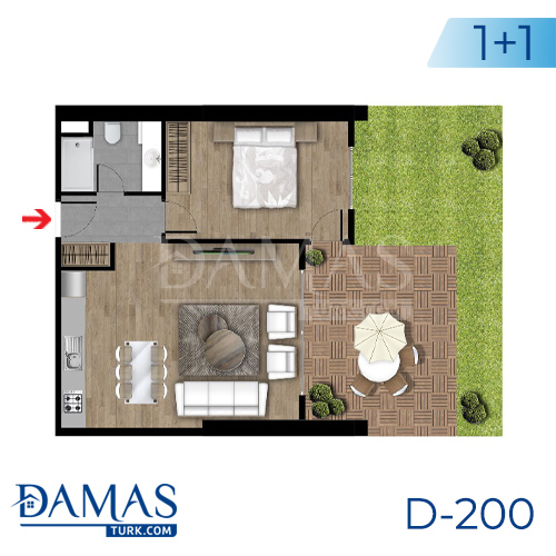Damas Project D-200 in Istanbul - Floor plan picture  02