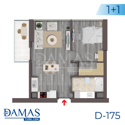 Damas Project D-175 in Istanbul - Floor plan picture  02