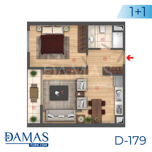 Damas Project D-179 in Istanbul - interior picture  02