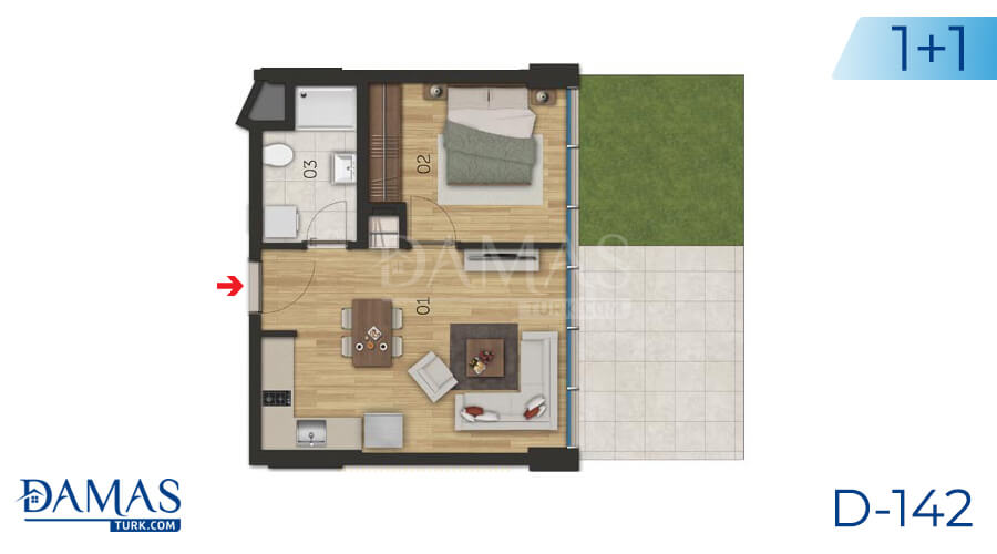 Damas Project D-142 in Istanbul - Floor plan picture 02