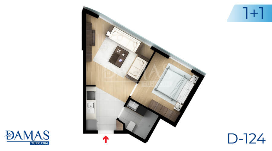 Damas Project D-124 in Istanbul - Floor plan picture 02