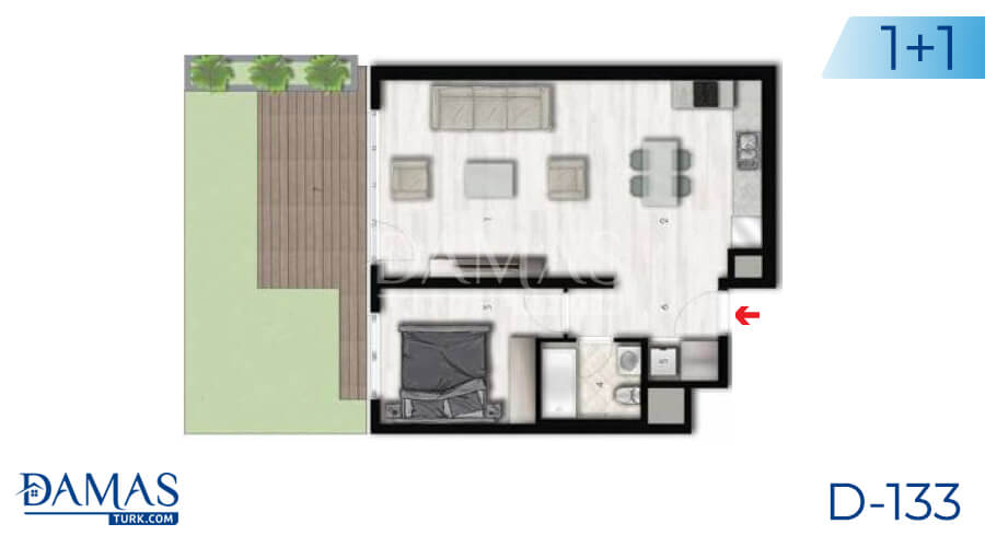 Damas Project D-133 in Istanbul - Floor plan picture 02