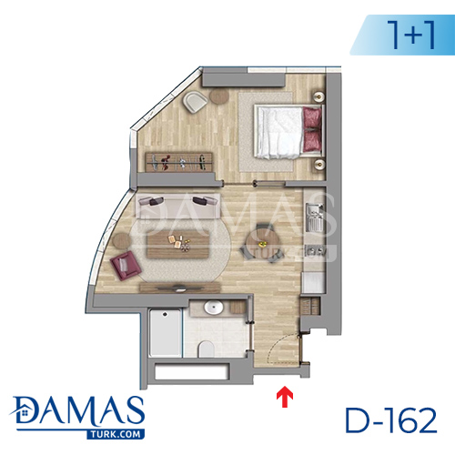 Damas Project D-162 in Istanbul - Floor plan picture 02