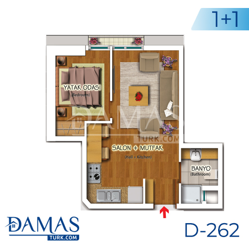 Damas Project D-262 in Istanbul - Floor plan picture 02