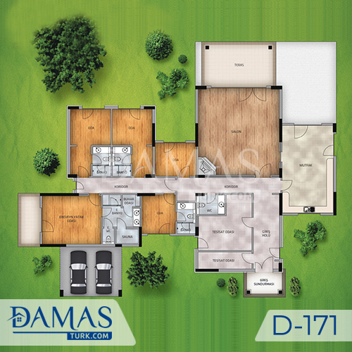 Damas Project D-171 in Istanbul - Floor plan picture  02