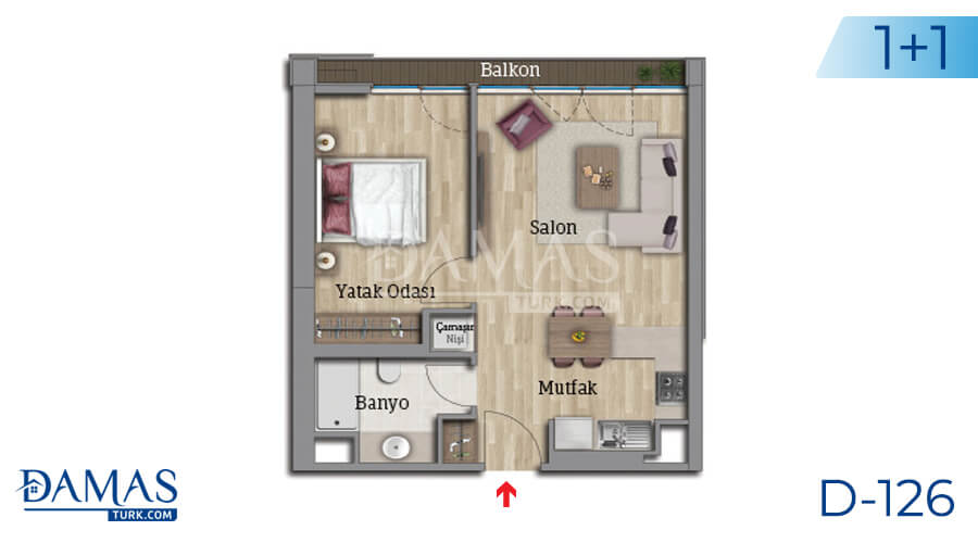 Damas Project D-126 in Istanbul - Floor plan picture 02