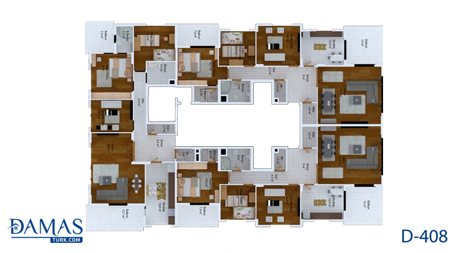 Damas 408 Project - Floor Plan 03