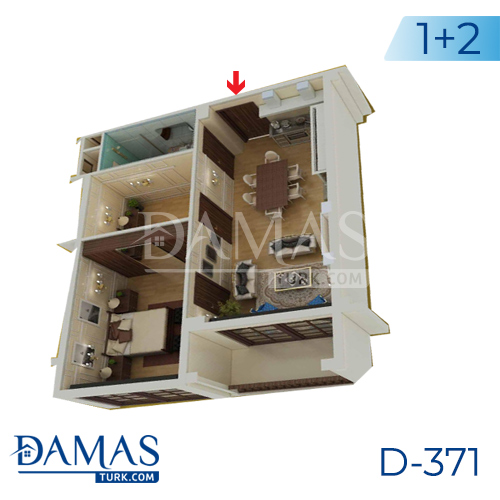 Damas Project D-371 in Yalova - Floor plan picture 03