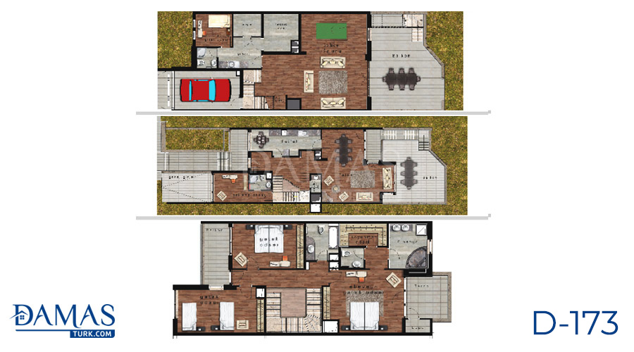 Damas Project D-173 in Istanbul - Floor plan picture  03
