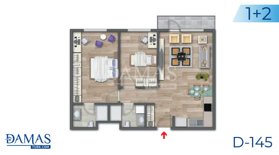 Damas Project D-145 in Istanbul - Floor plan picture 03