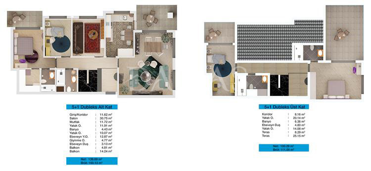 Damas 203 Project in Bursa - Floor Plan 03